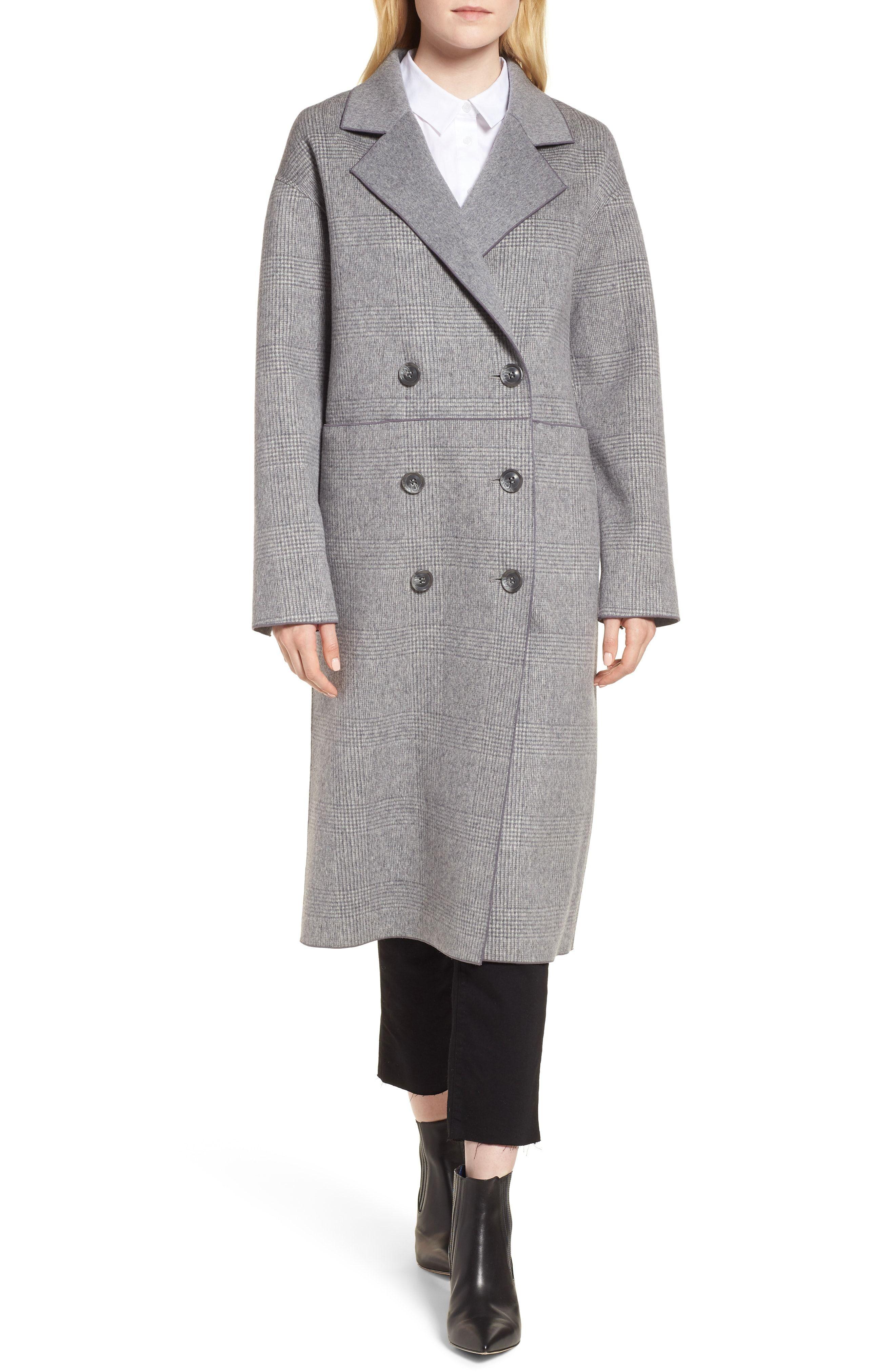 f4580a0b1eb Double Breasted Wool Coat. | Fall/Winter Wishlist | Wool coat ...