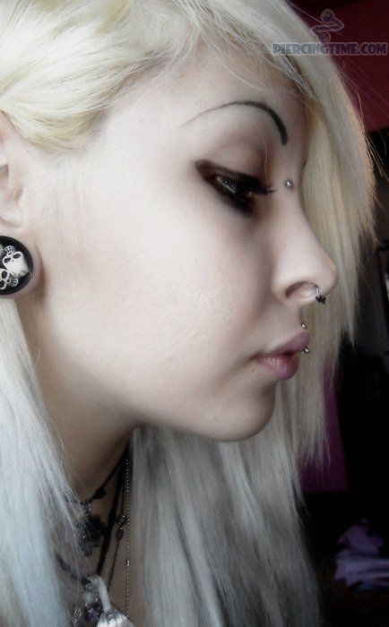 Sorry, Bridge piercing and septum with