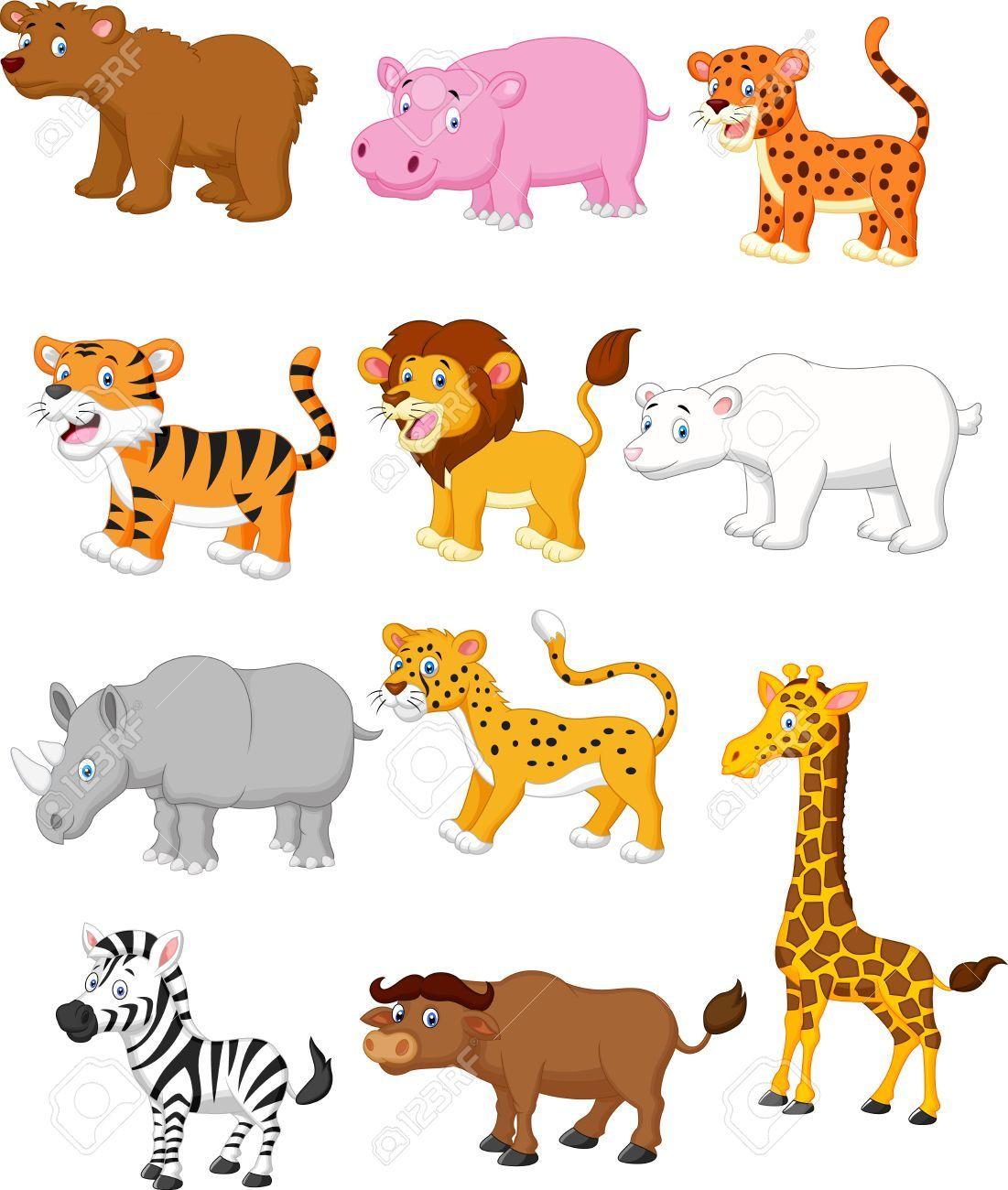 Wild Animal Cartoon Illustration Affiliate Animal Wild Illustration Cartoon Hewan Binatang Kartun