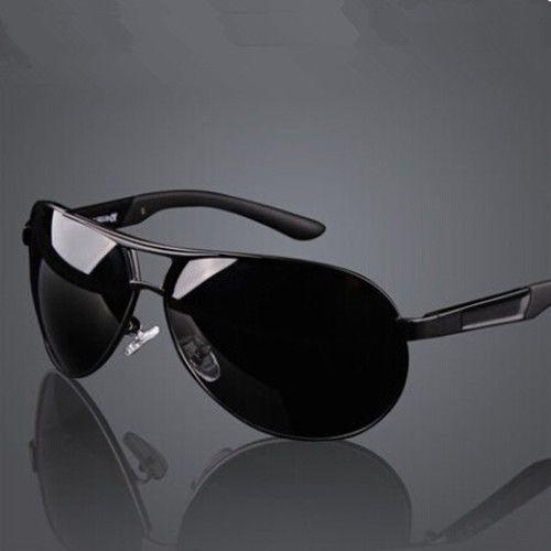 HD Men/'s Polarized Sunglasses Retro Outdoor Sports Pilot Eyewear Driving Glasses