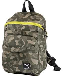 b8c4f2e07aae Buy Puma Boys  Khaki Camouflage Foundation Backpack at Argos.co.uk ...