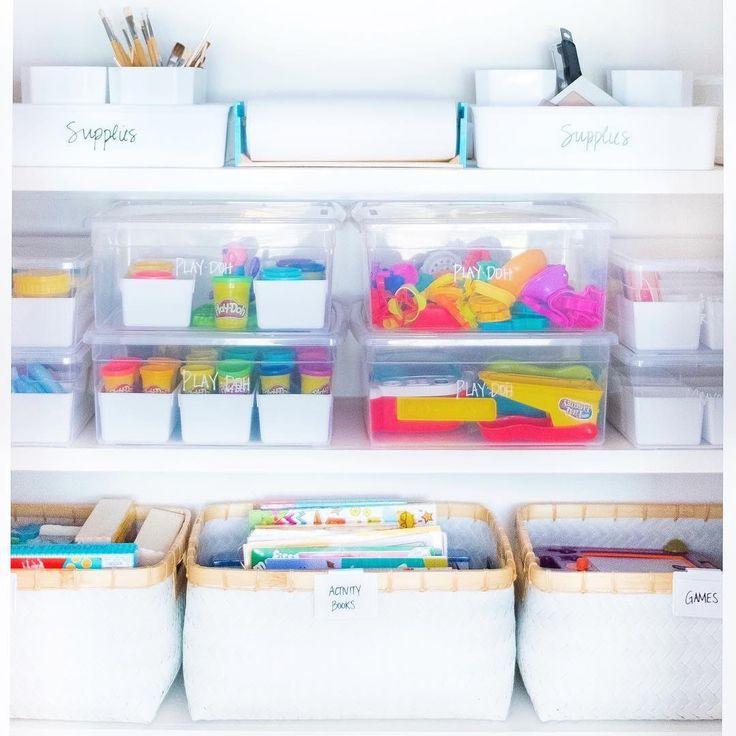 5 KidFriendly Systems For Organizing Toys Spielzeug