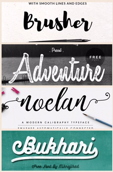 Download Best Free Script Fonts for Personal and Commercial Use ...
