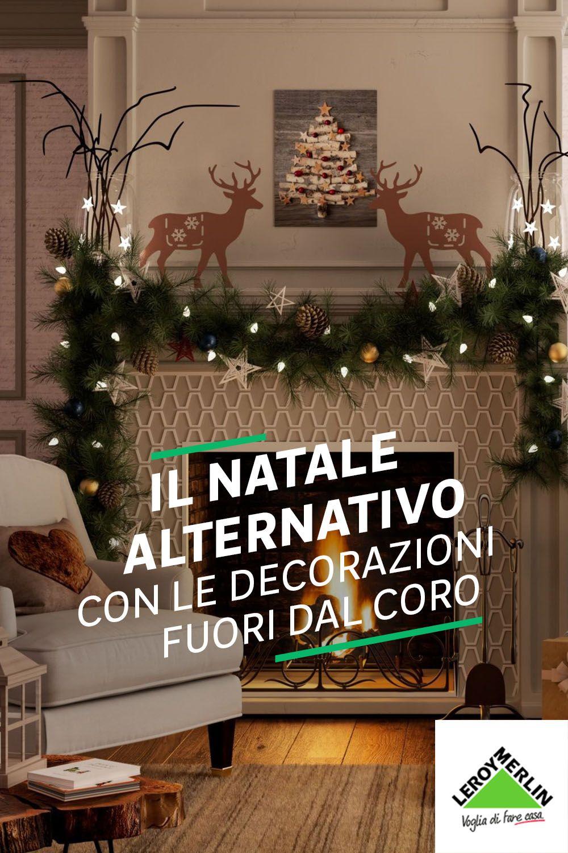 Natale Senza Albero Ecco Come Decorare La Casa Decorazioni Natale Case Di Natale