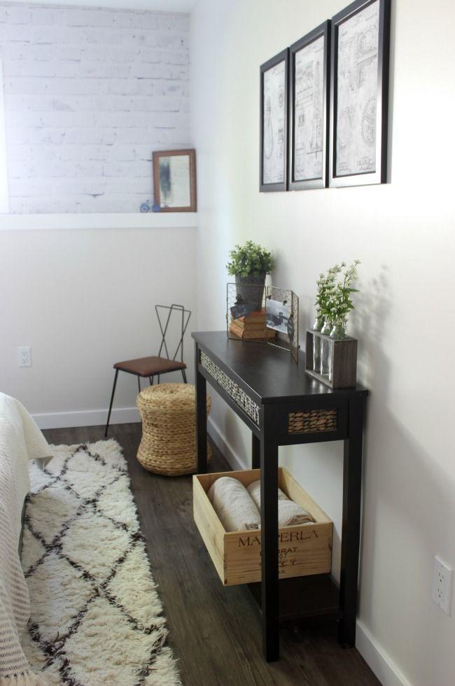 One Room Challenge {Week Six} - Modern Industrial Bedroom ...