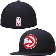 huge discount 8fbd6 27d9e Men s Atlanta Hawks New Era Navy 59FIFTY GCP Fitted Hat