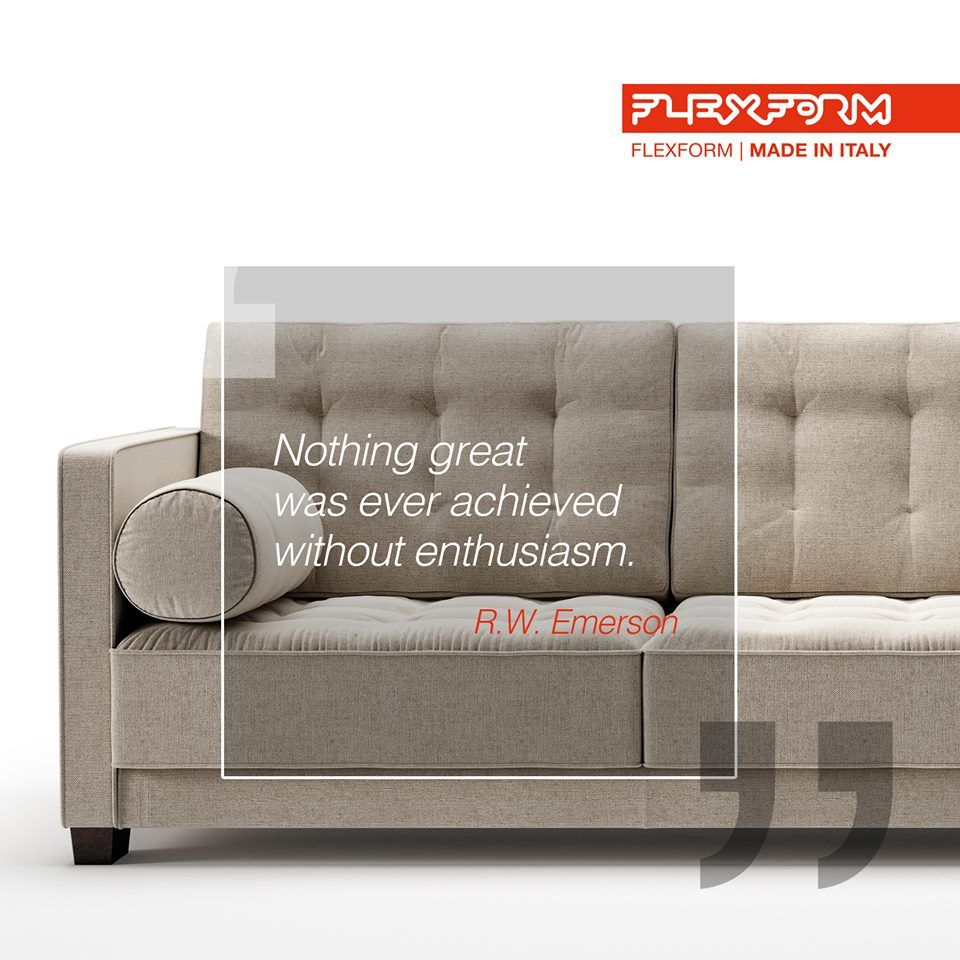 Divani Su Misura Meda.Flexform Is Simply A Company From Meda That Produces Sofas And