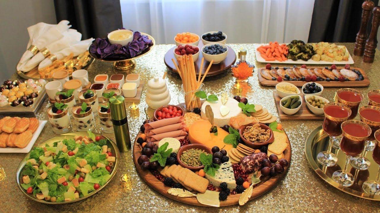 Brunch فطور غداء للضيوف بدون تعب برانش وصفات سهلة