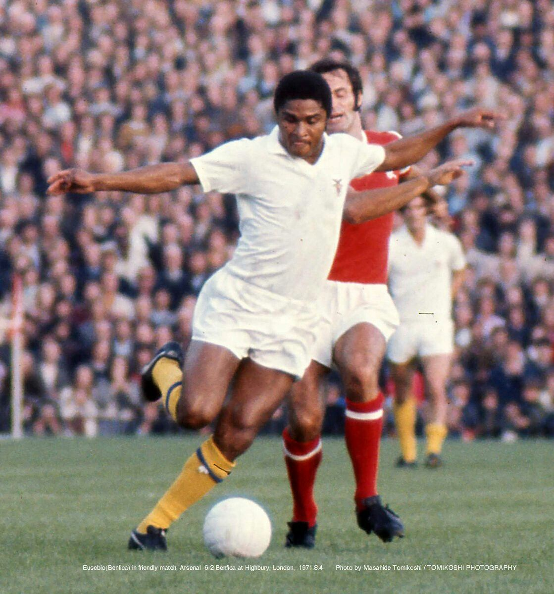 Pin by Dulat on portugal   English football league, Eusebio, Best football  players