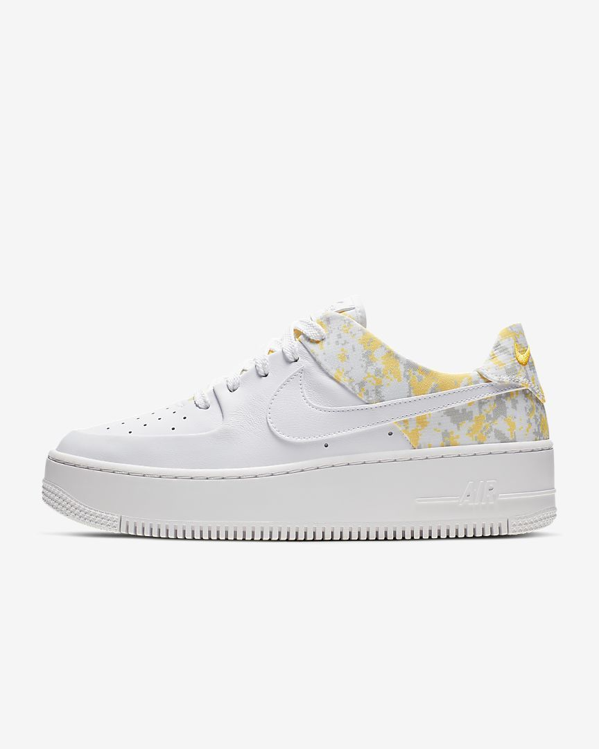 nike air force 1 sage low femme blanc