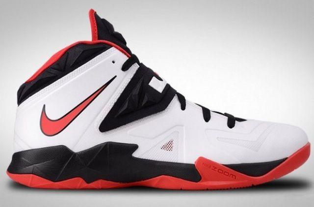 Nike LeBron Zoom Soldier 7 - Black/Red