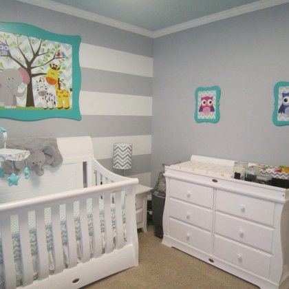 Gender Neutral Nursery If I Can Talk The Husband Into Keeping It A Secret Or Not Finding Out The Gender Unisex Baby Room Baby Room Neutral Baby Room Colors