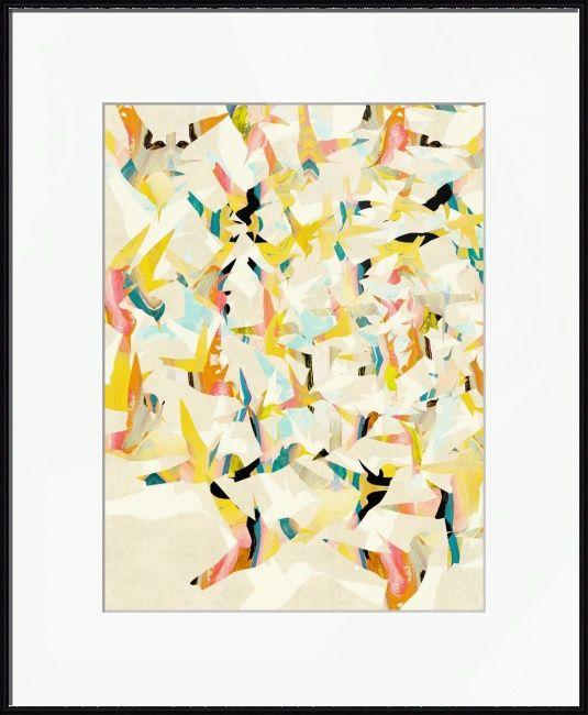 Color migration on cream by cozamia art canada imagekind