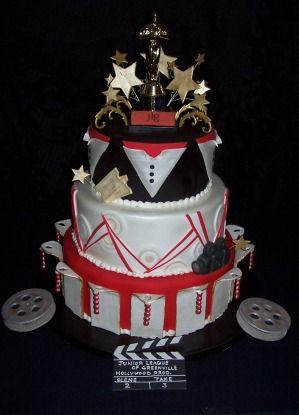 Oscar Theme Cake The Oscars Party Cake 13th Birthday