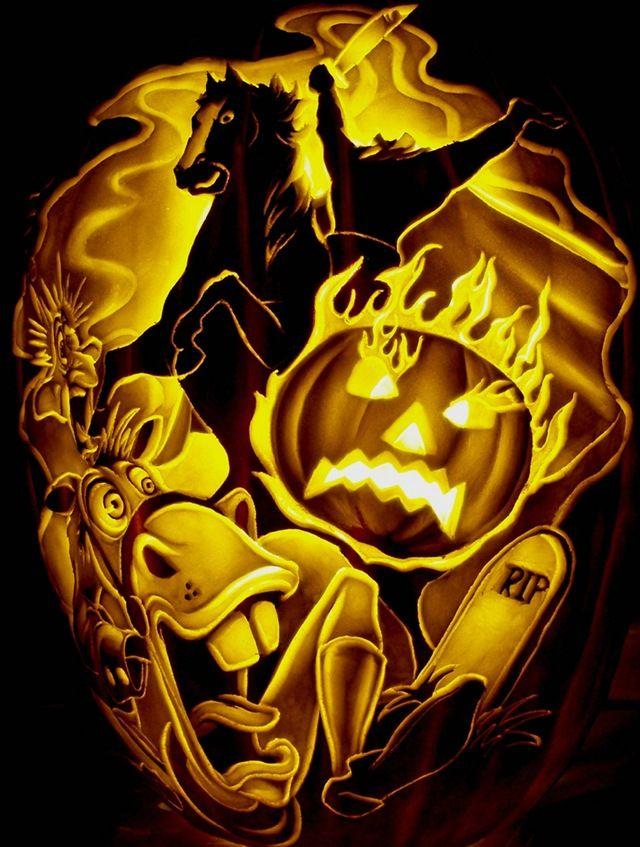 Terrific Disney Villains Pumpkin Carvings Pumpkin Carving Halloween Pumpkin Crafts Pumpkin Stencil