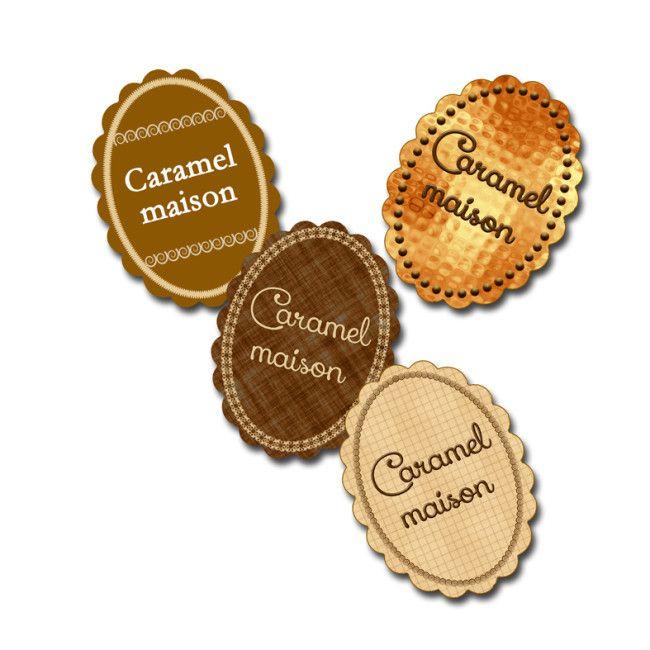 Berühmt étiquette gratuite caramel liquide maison | technique de  ZG03