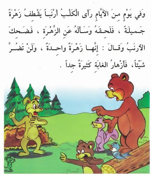 أجمل قصص للاطفال قبل النوم قصة إنها زهرة واحدة قصص أطفال بالصور Arabic Alphabet For Kids Arabic Kids Learning Arabic