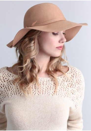 Springfield Hat In Beige #shopruche I'm thinking of trying hats!