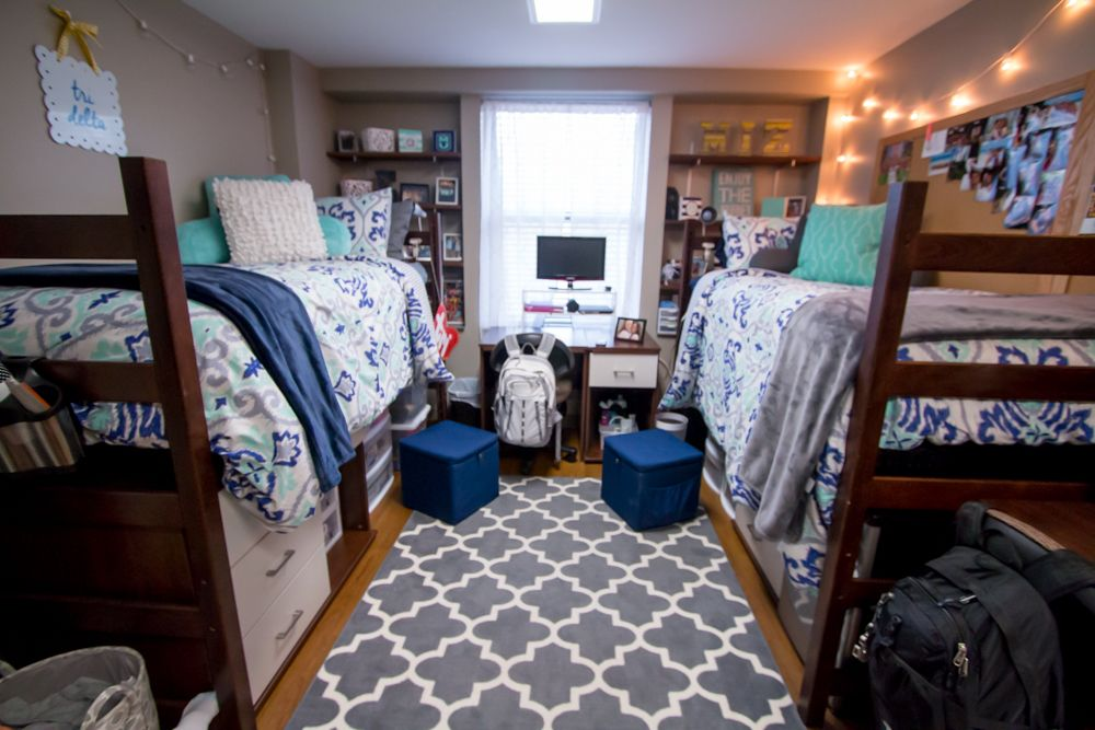 Mizzou Student Room In Gillett Hall Love The Colors And