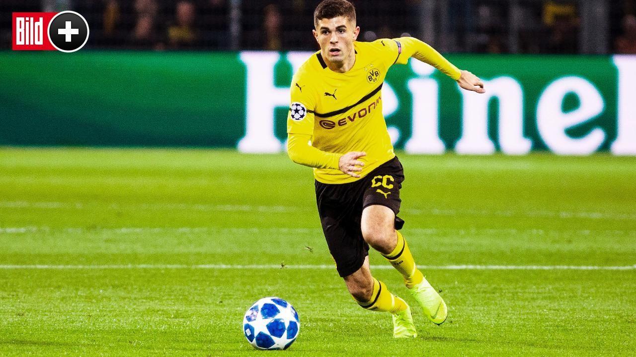 Bvb Fordert Millionen Ablose Pulisic Einig Mit Chelsea Borussia Dortmund Bundesliga Bvb Chelsea