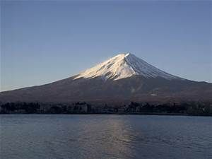 Mountain Fuji .Located on Honshu Island, is the highest mountain in Japan at 3,776.24 m (12,389 ft)