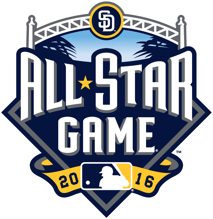 e311ea13d334 MLB All-Star Game Primary Logo (2016) - 2016 MLB All-Star Game - San Diego