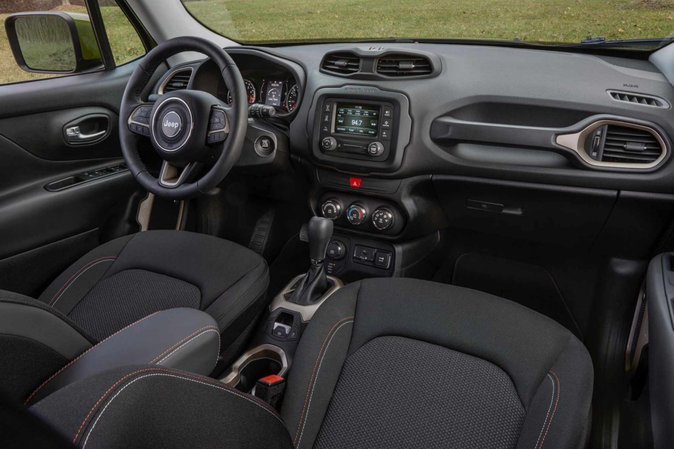 2017 Jeep Renegade Jeep Renegade Jeep Renegade 2017 Jeep Renegade Interior