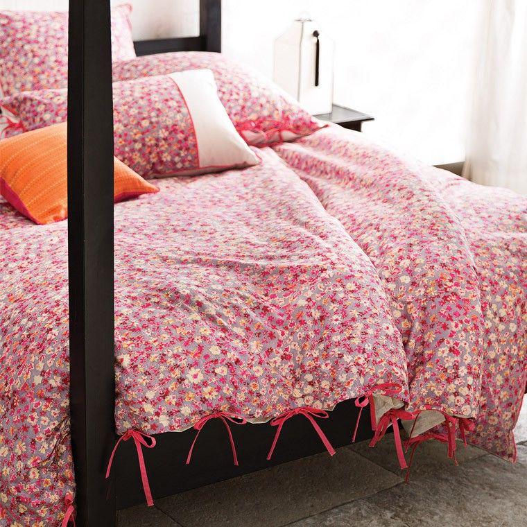 Parure de lit VALENTINE   - Côté sieste   Parure de lit, Housse de ...