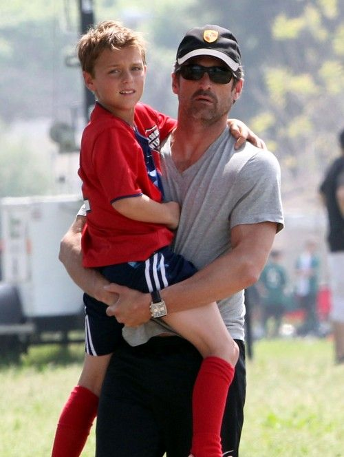 Patrick Dempsey Aka Doctor Mcsteamy Is A Soccer Dad Celebrity