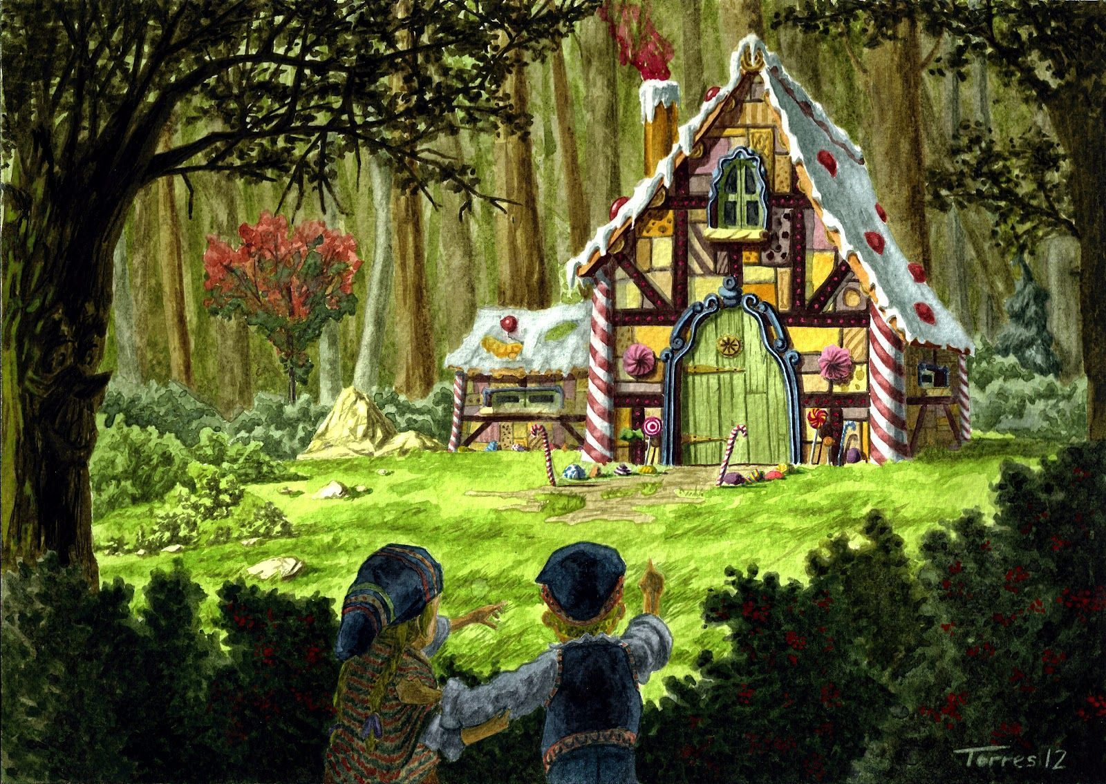 Image Result For Hansel And Gretel Cottage Hansel And Gretel House Art Fairy Tales