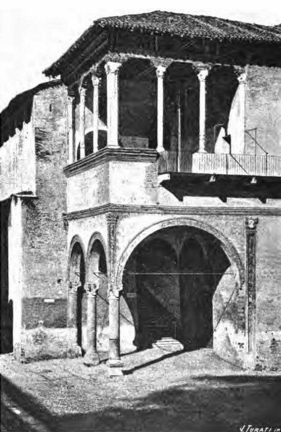 loggia di galeazzo maria al castello sforzesco