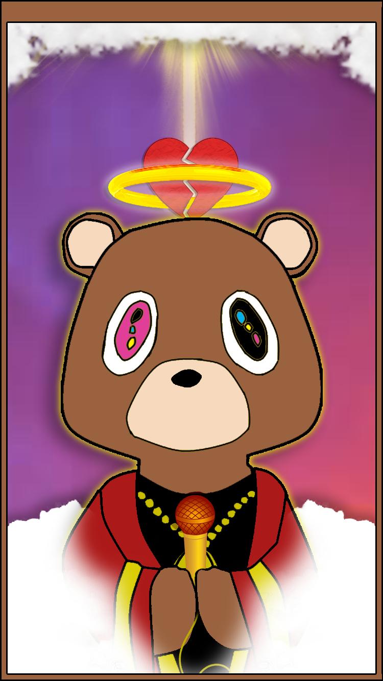 Kanye West Bear Iphone 6 Background Kanye West Bear Iphone
