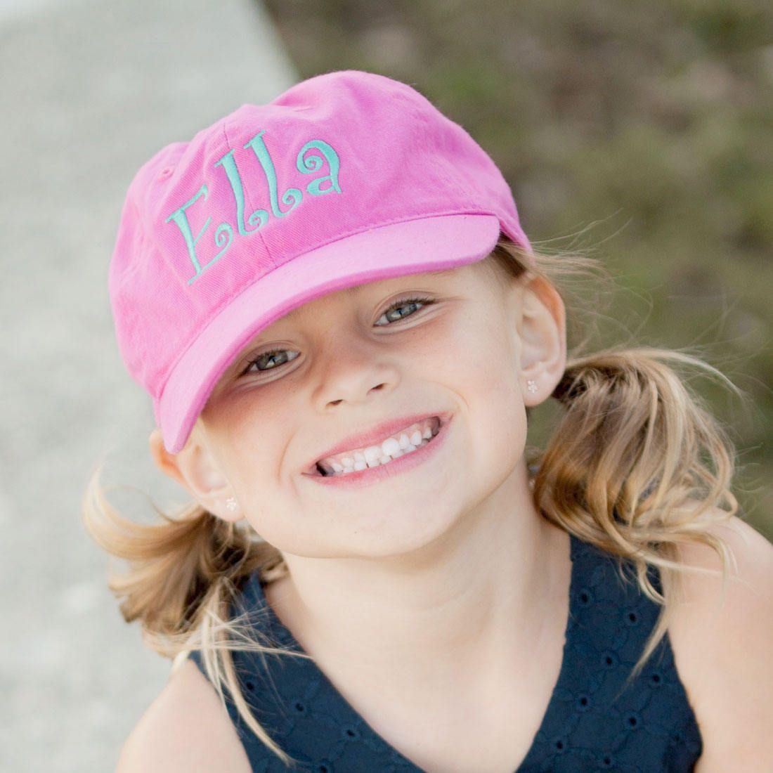 1510e8c9b48 Girl s Pink Cap - Baseball Cap - Monogram Cap - Girl s Hat - Personalized  Cap - Girl s Baseball Cap - Girl s Cap - Pink Cap - Girls Gift by ...