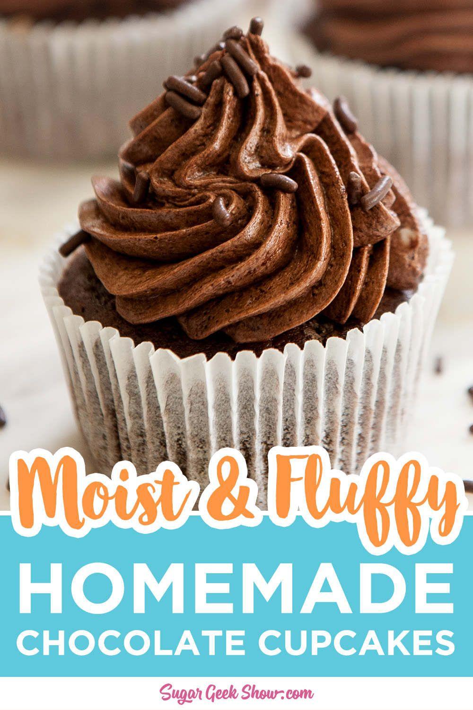 Moist Chocolate Cupcake Recipe In 2020 Homemade Chocolate Cupcakes Cupcake Recipes Cupcake Calories