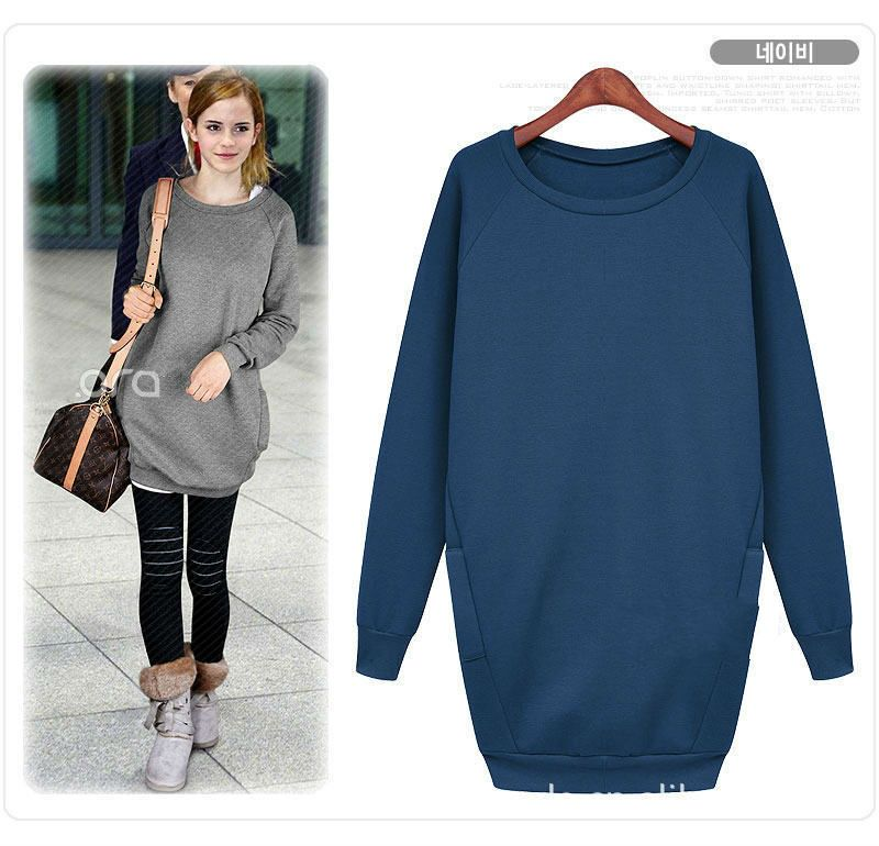 HotSale New O-Neck Long Sleeve Pullover Hoodie Brand Clothes Women ...