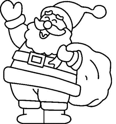 Papa Noel Free Christmas Coloring Pages Christmas Coloring Sheets