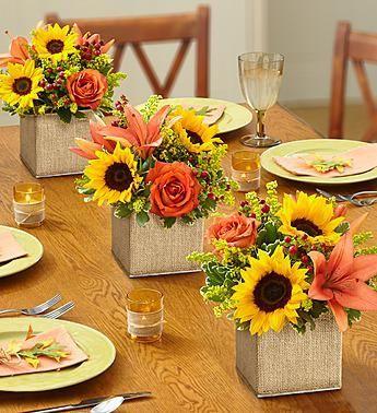 Bridal Showers · Autumn Celebration™ Centerpiece. M.ww11.1800flowers.com