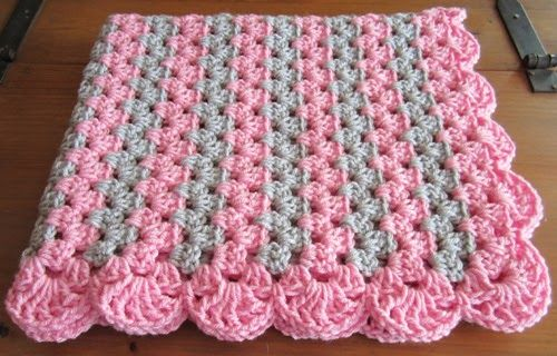 Zigzag Baby Blanket This Crochet Diagram Is Available For Free