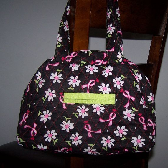 quilted Breast purses cancer