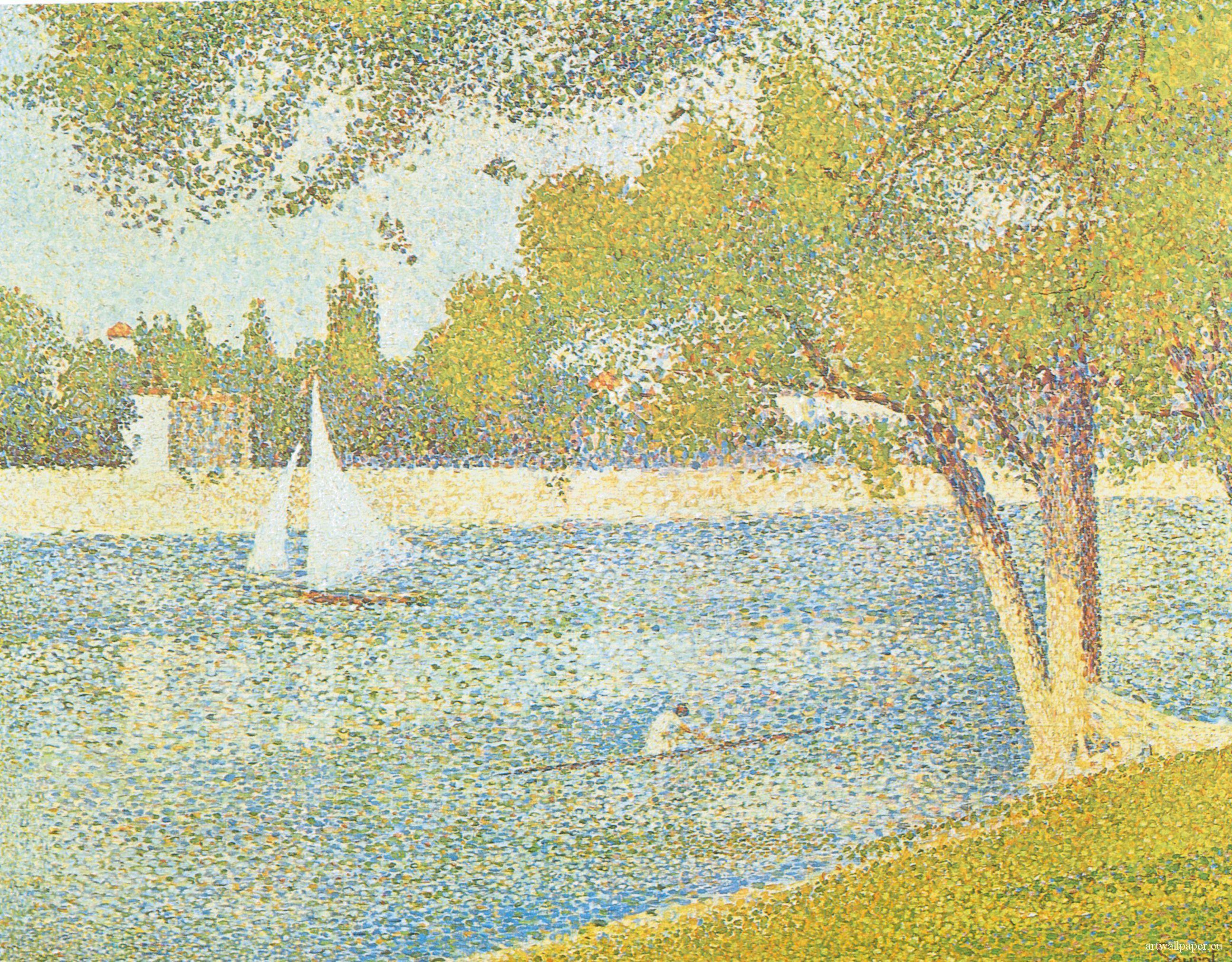 Georges Seurat Paintings 22