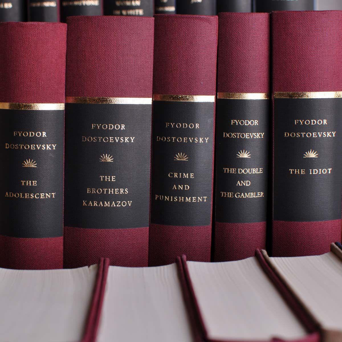 100 Book Literary Classics Library Classic Books Book Aesthetic Dostoyevsky Books