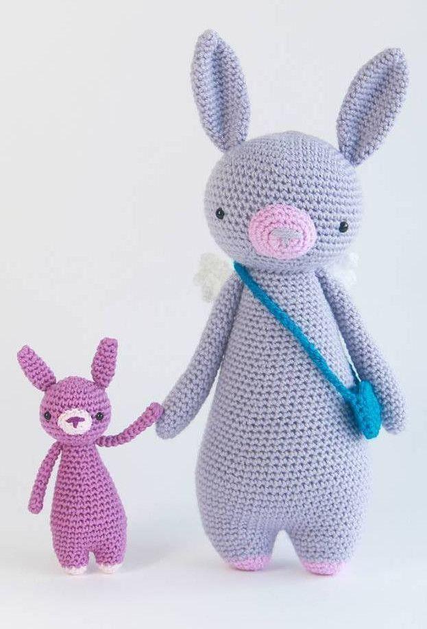 Bunny crochet patterns by Little Bear Crochets: www ...