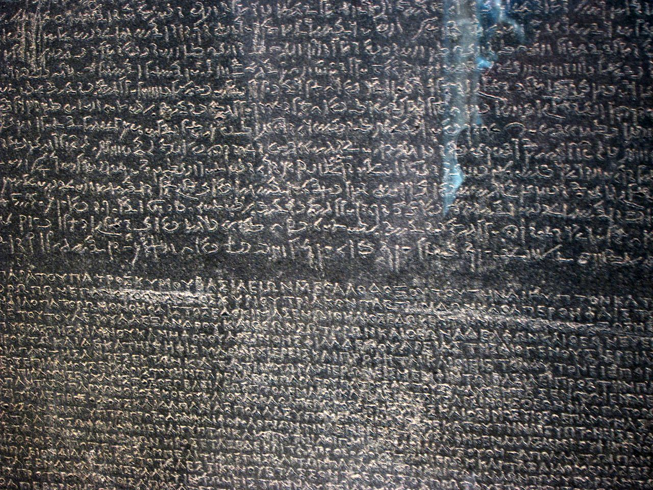 rosetta stone egyptian writing and meaning