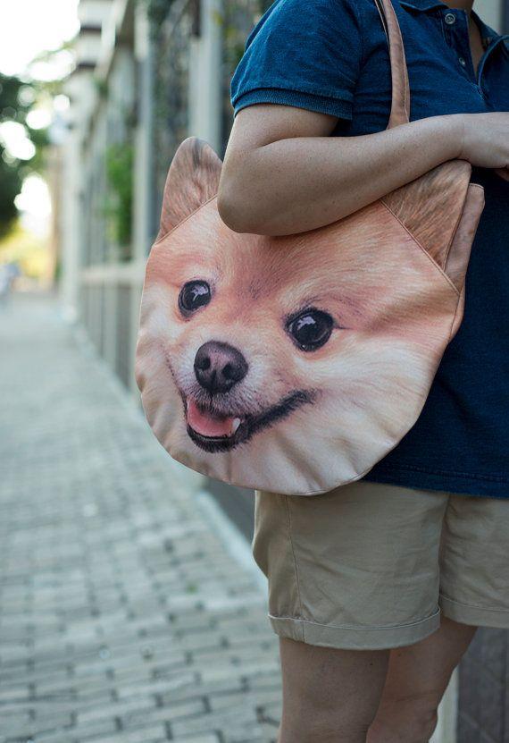Pomeranian Dog Bag Dog Purse Dog Shoulder Bag Pet Bag Pet Lover
