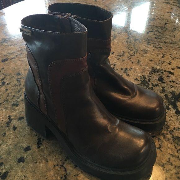 0827978111d Mudd Chunky Heel Platform Zip Up Boots Mudd Chunky Heel Platform Zip Up Boots  Mudd Shoes Ankle Boots   Booties