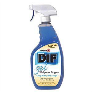 Zinsser DIF 32oz. Wallpaper Remover Gel Spray Model