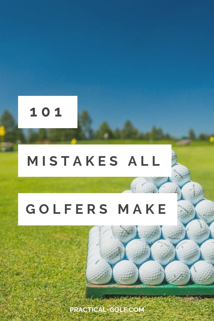 101 Mistakes All Golfers Make Golf Putting Driving Training Course Golftips Golfingtips Awesomegolftip