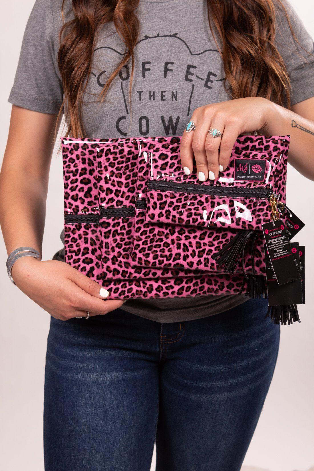 Pink Leopard Love Make Up Junkie Taschen – Armband
