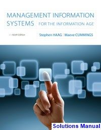 Management information systems for the information age 9th edition management information systems for the information age 9th edition haag solutions manual test bank fandeluxe Images