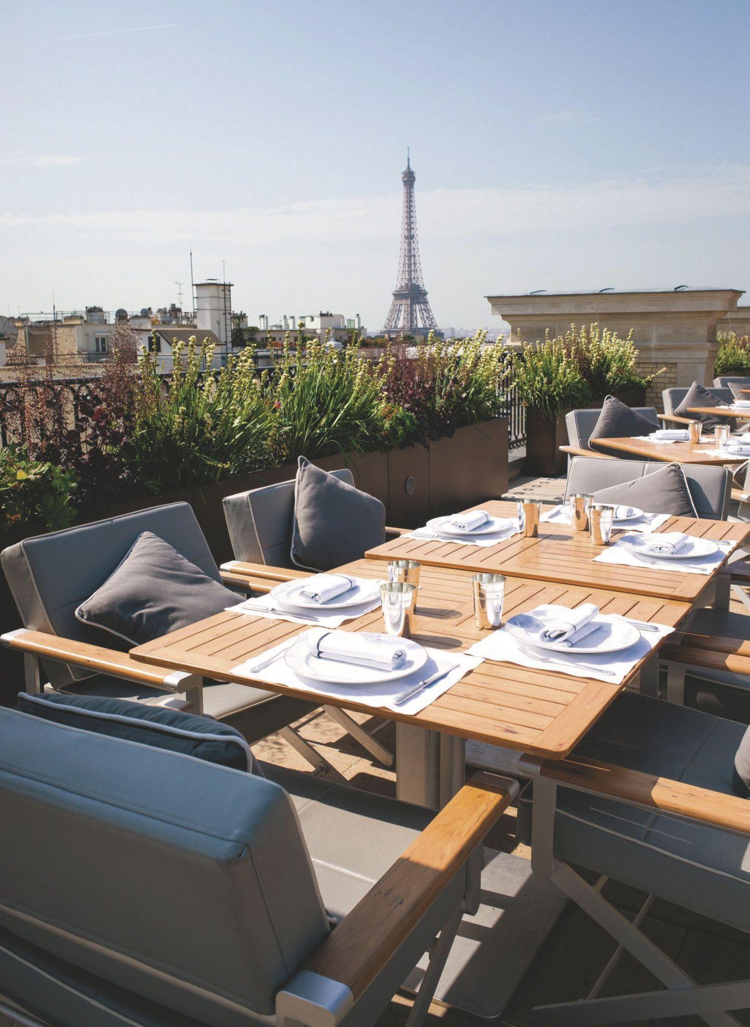Restaurant Avec Terrasse Paris
